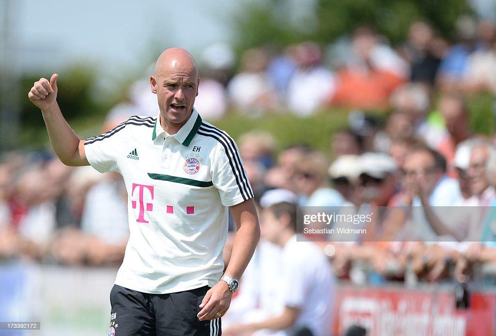SV Heimstetten v Bayern Muenchen II - Regionalliga Bayern : News Photo
