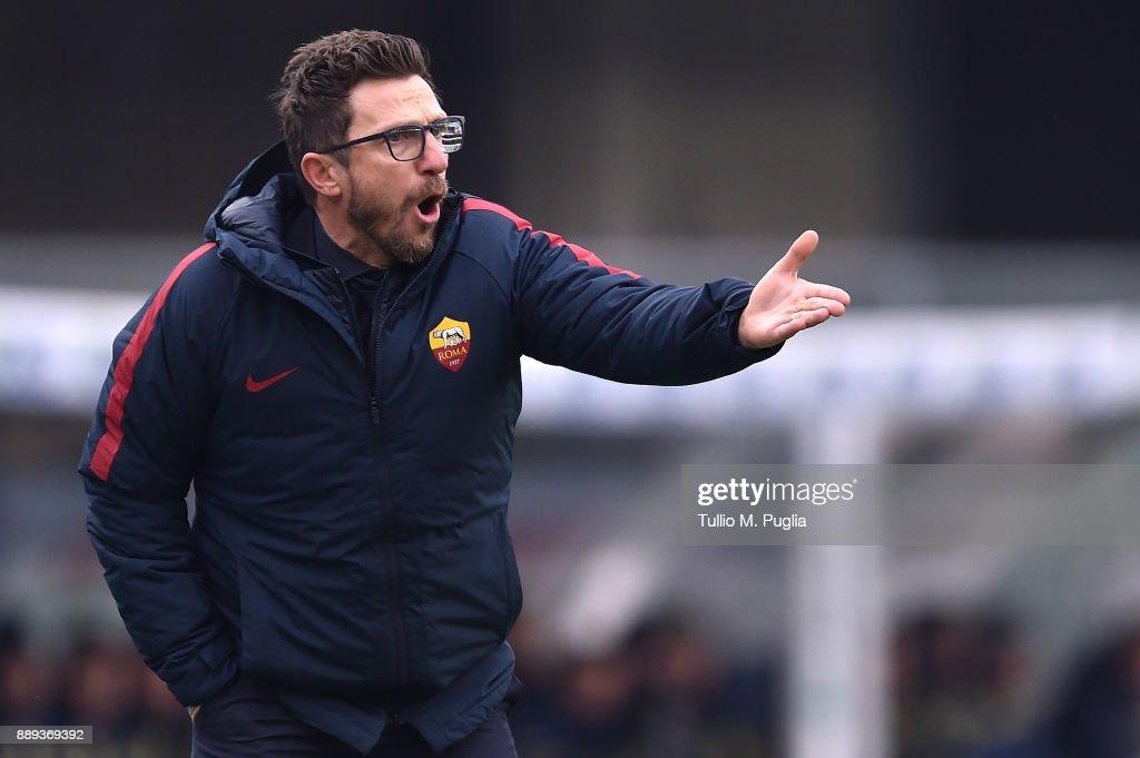 AC Chievo Verona v AS Roma - Serie A : News Photo