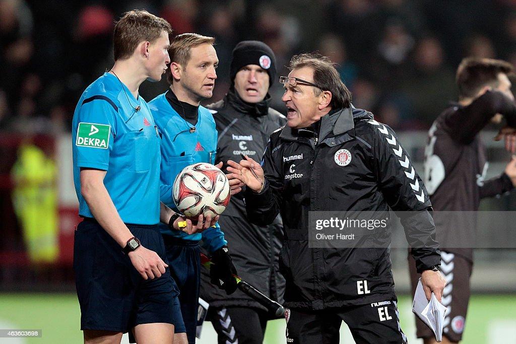FC St. Pauli v Greuther Fuerth  - 2. Bundesliga : News Photo