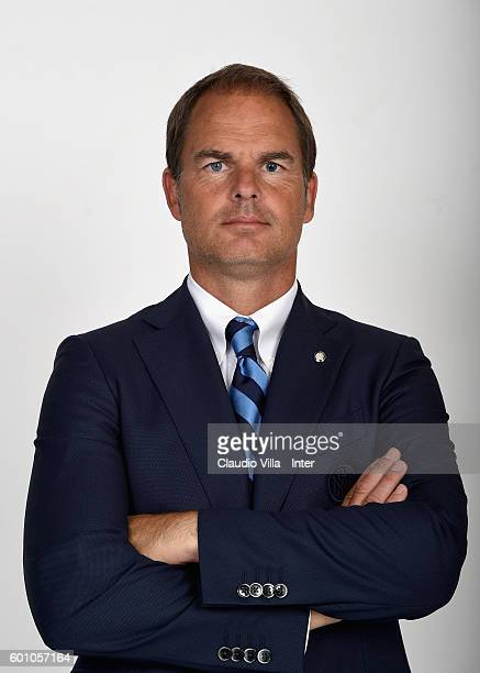 Head coach FC Internazionale Frank de Boer poses during the official portrait session on September 09 2016 in Milan Italy