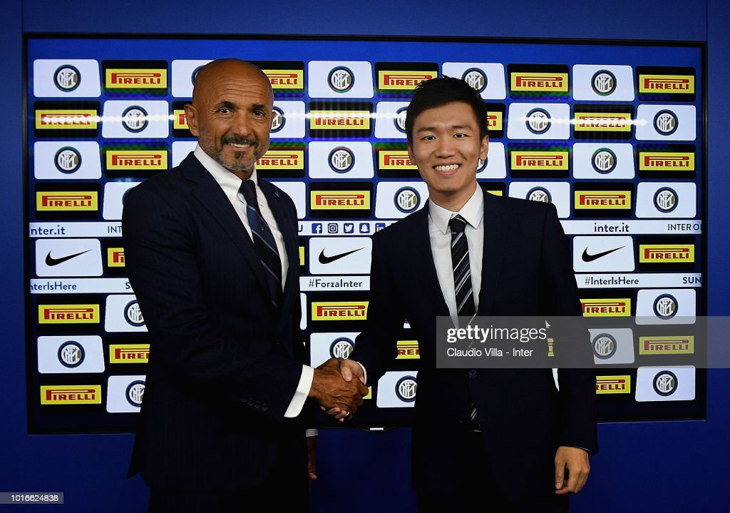FC Internazionale Extends Contract With Coach Luciano Spalletti Until 2021