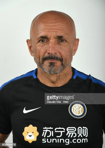 Head coach FC Internazionale Milano Luciano Spalletti poses after the FC Internazionale training session on July 8 2017 in Reischach near Bruneck...