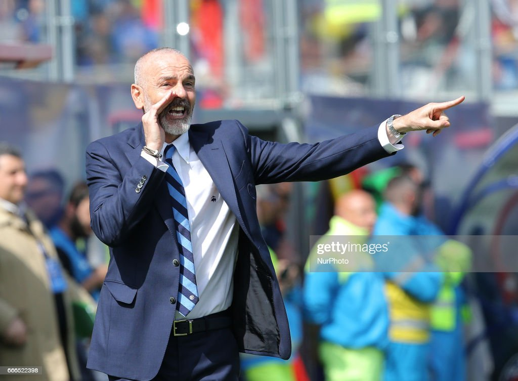 FC Crotone v FC Internazionale - Serie A : Foto di attualità