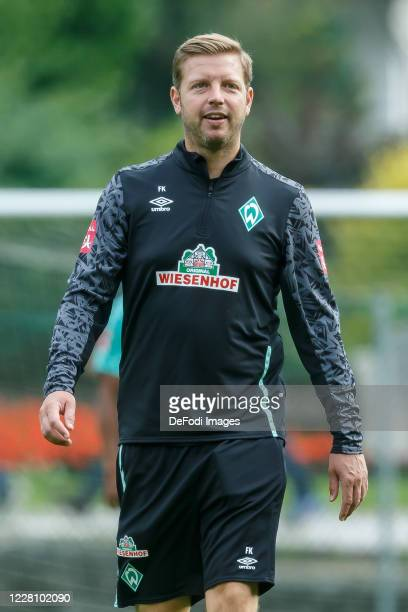 Head coach Florian Kohfeldt of SV Werder Bremen looks on during the Werder Bremen Training Camp on August 18, 2020 in Zell am Ziller, Austria.