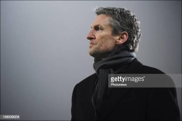 Head coach Francky Dury of Zulte-Waregem during the Cofidis Cup 1/4 final away match between SV Zulte Waregem and KRC Genk in the Regenboog stadium...