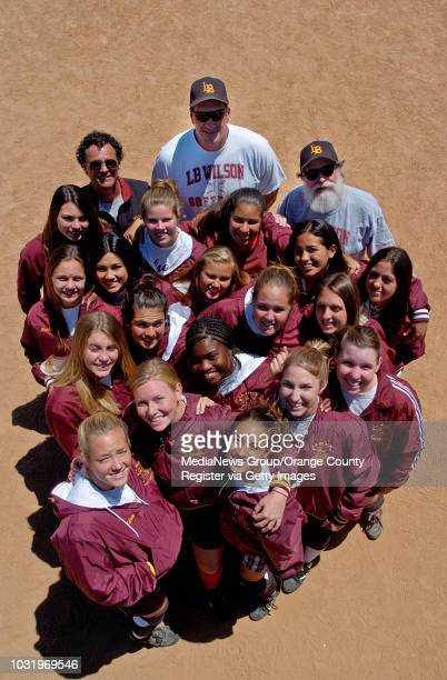 5/10/05 Head Coach Frank Donohue assistant coaches Tim Rother Richart White with players Milena Engvidanos Kelsey Schafer Elizabeth Bravo Emily Buika...