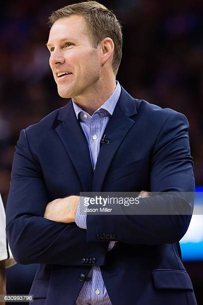 Head coach Fred Hoiberg of the Chicago Bulls watches his team during the second half against the Cleveland Cavaliers at Quicken Loans Arena on...