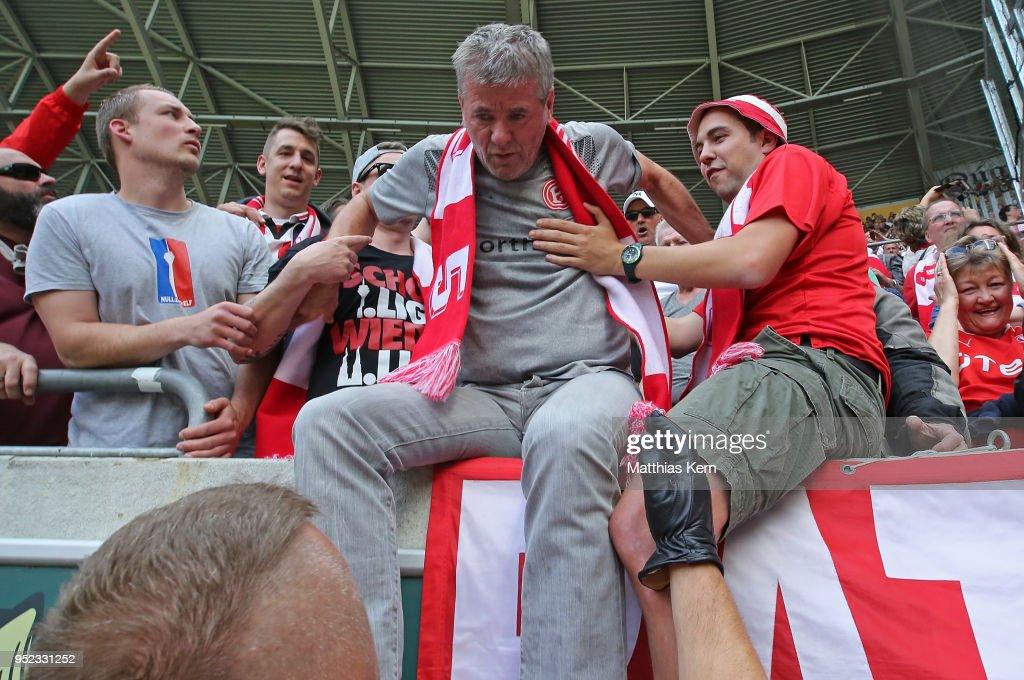 SG Dynamo Dresden v Fortuna Duesseldorf - Second Bundesliga : News Photo