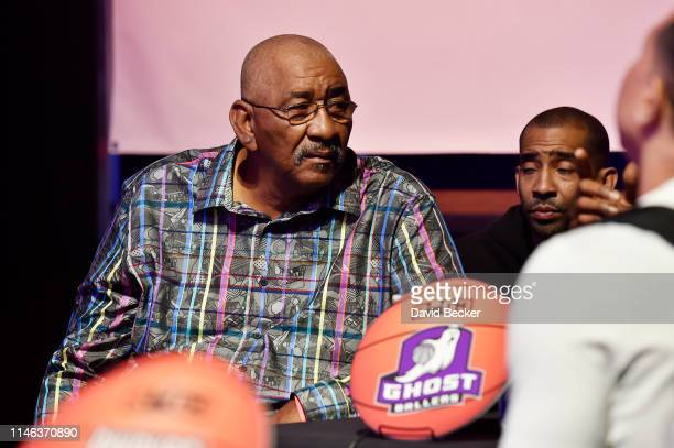 Head coach George Gervin of the Ghost Ballers looks on during the BIG3 Draft at the Luxor Hotel Casino on May 01 2019 in Las Vegas Nevada