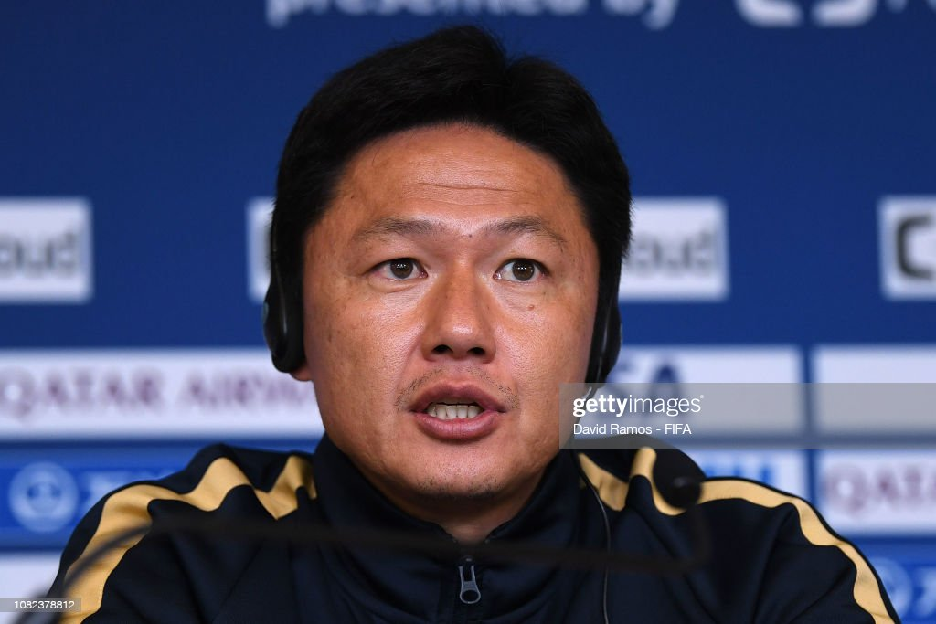 ARE: Kashima Antlers Training Session & Press Conference - FIFA Club World Cup UAE 2018