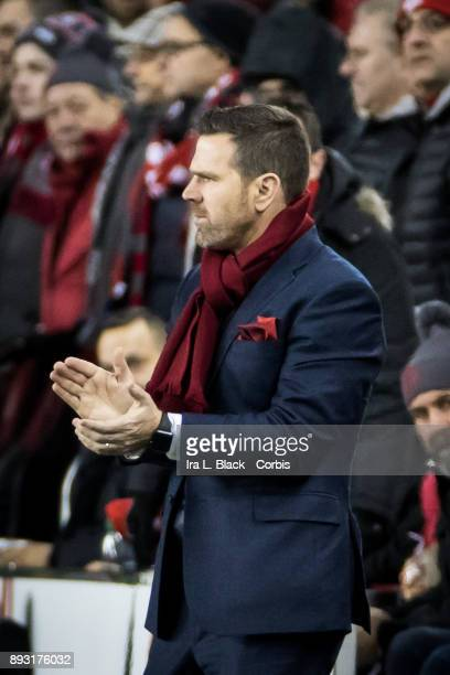 Head Coach Greg Vanney of Toronto FC during the 2017 Audi MLS Championship Cup match between Toronto FC and Seattle Sounders FC at BMO Field on...