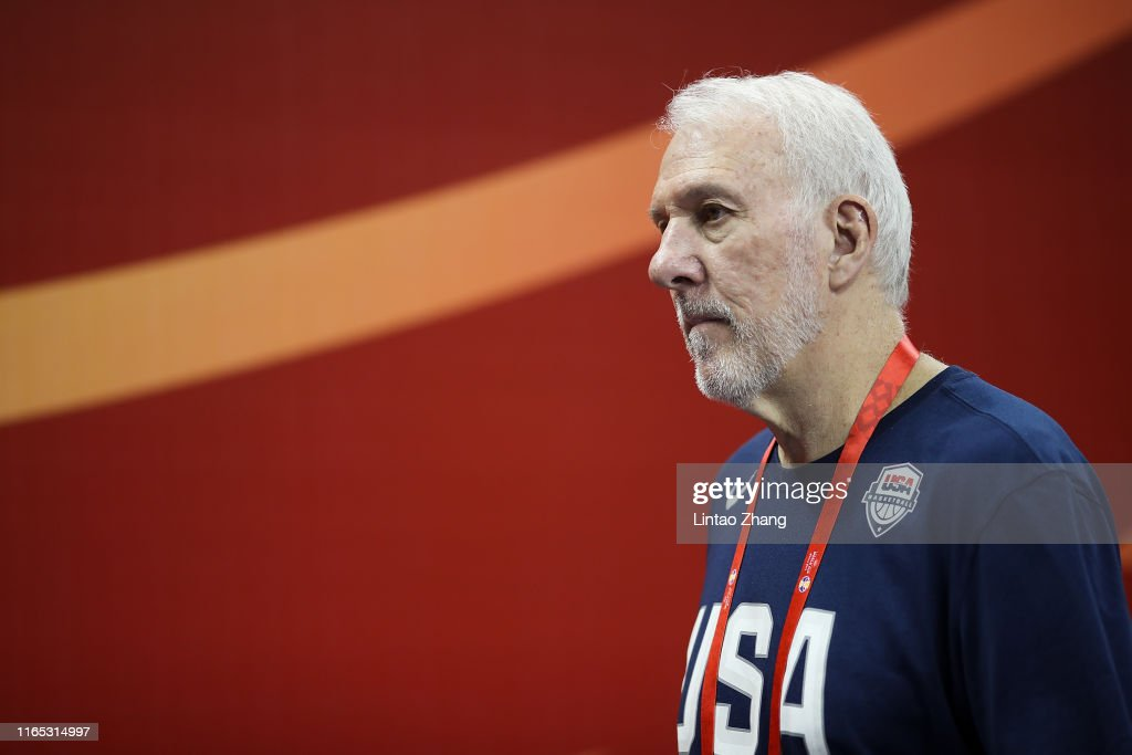Czech Rep v USA: Group E - FIBA World Cup 2019 : News Photo