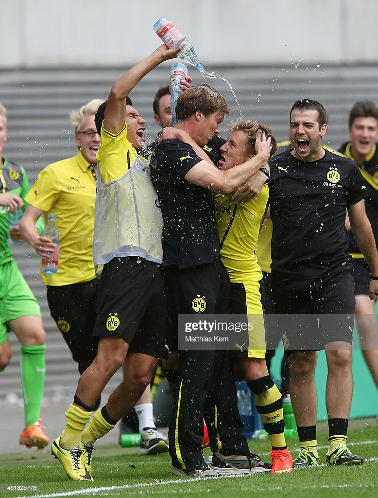 RB Leipzig v Borussia Dortmund - B Juniors Bundesliga Final : News Photo