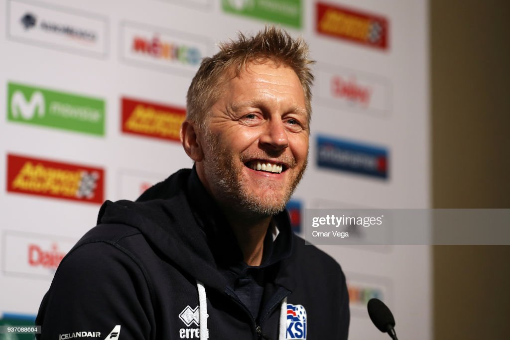 Iceland Press Conference and Training Session