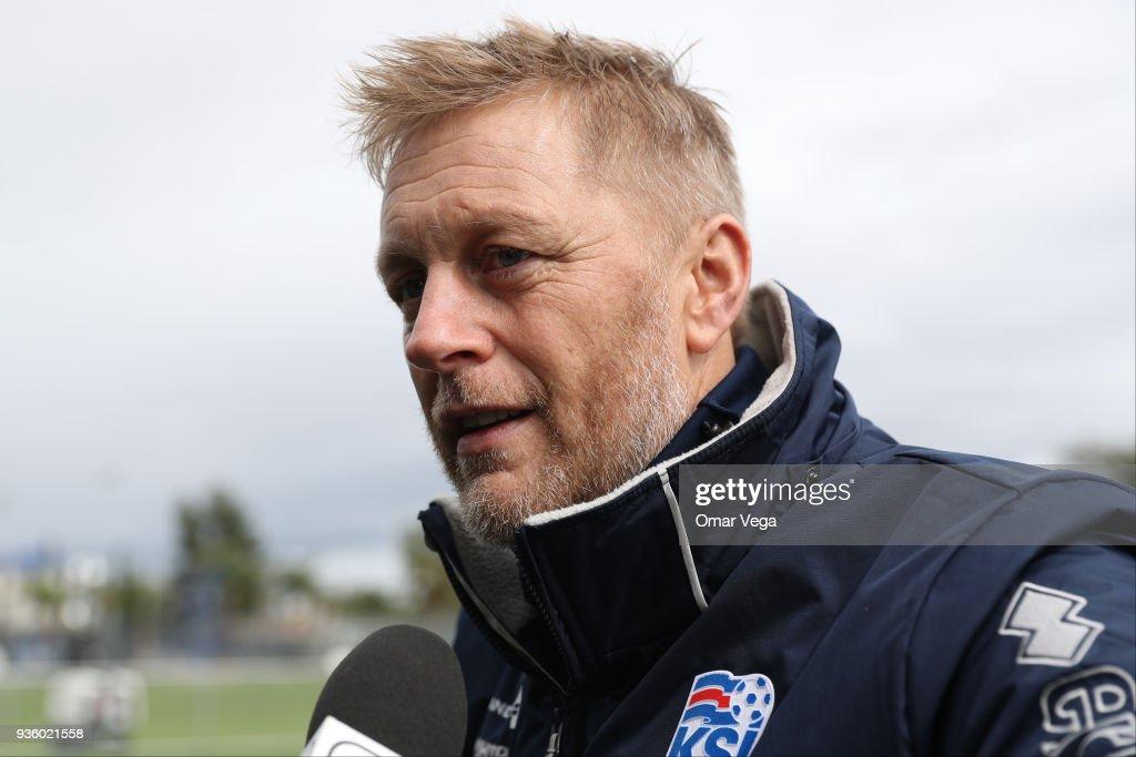 Iceland Training Session