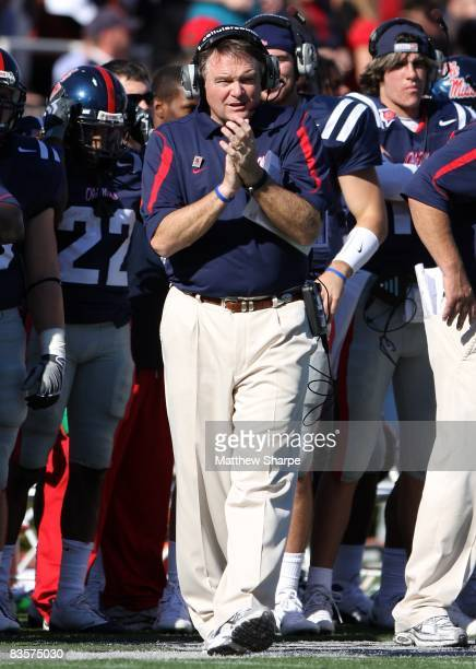 Houston Nutt Pictures And Photos Getty Images