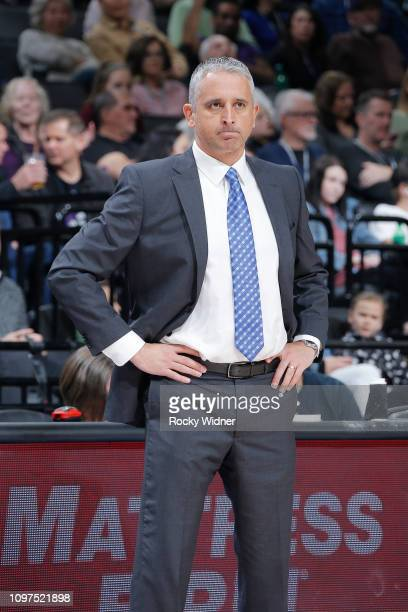 Head Coach Igor Kokoskov of the Phoenix Suns looks on during the game against the Sacramento Kingson February 10 2019 at Golden 1 Center in...