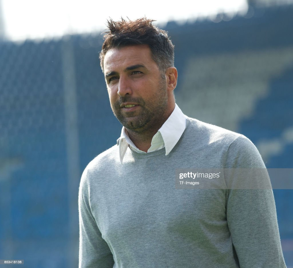 Head coach Ismail Atalan of Bochum looks on during the Second Bundesliga match between VfL Bochum 1848 and FC Ingolstadt 04 at Vonovia Ruhrstadion on September 24, 2017 in Bochum, Germany.