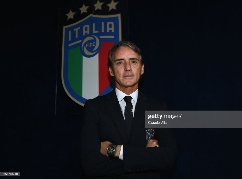 Italian Football Federation Unveils New Coach Roberto Mancini