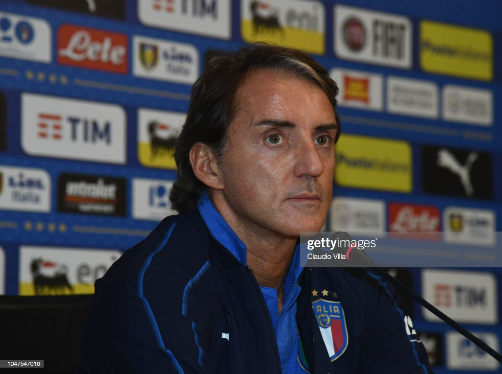 Italy Training Session And Press Conference : News Photo