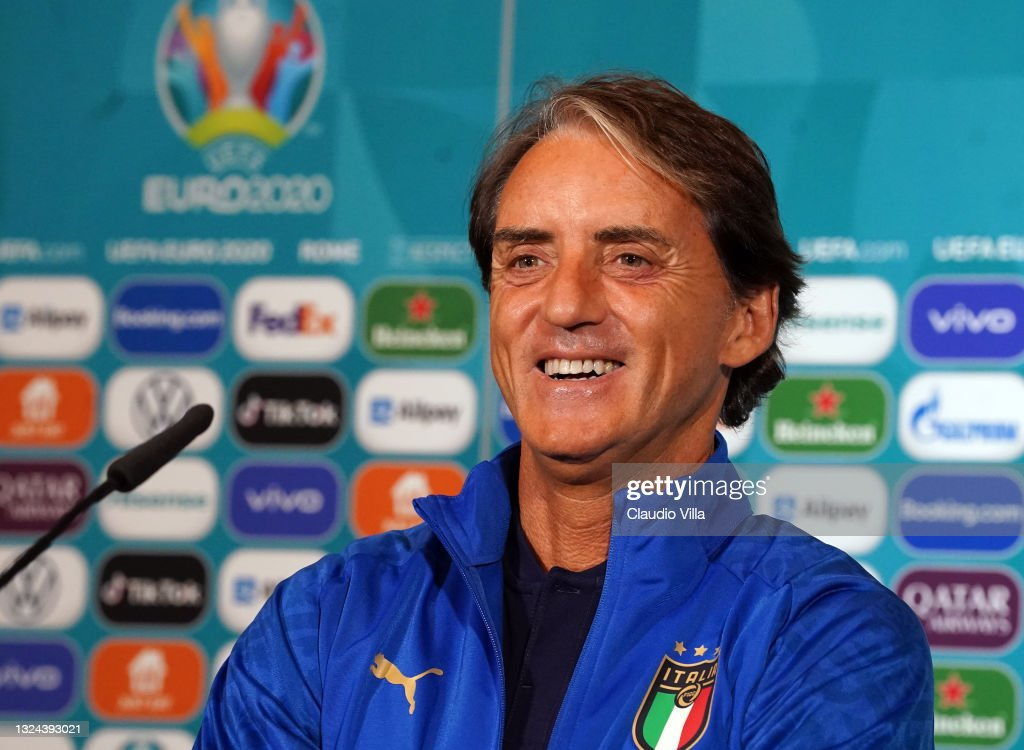 Italy Training Session and Press Conference - UEFA Euro 2020: Group A : News Photo