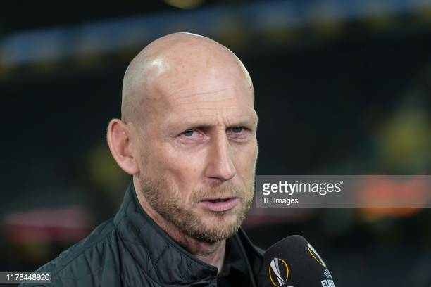 head coach Jaap Stam of Feyenoord looks on during the UEFA Europa League group G match between BSC Young Boys and Feyenoord at Stade de Suisse...