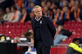 amsterdam netherlands head coach janne andersson
