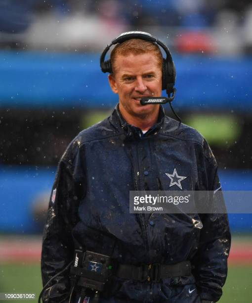 Head Coach Jason Garrett of the NFC during the 2019 NFL Pro Bowl at Camping World Stadium on January 27 2019 in Orlando Florida