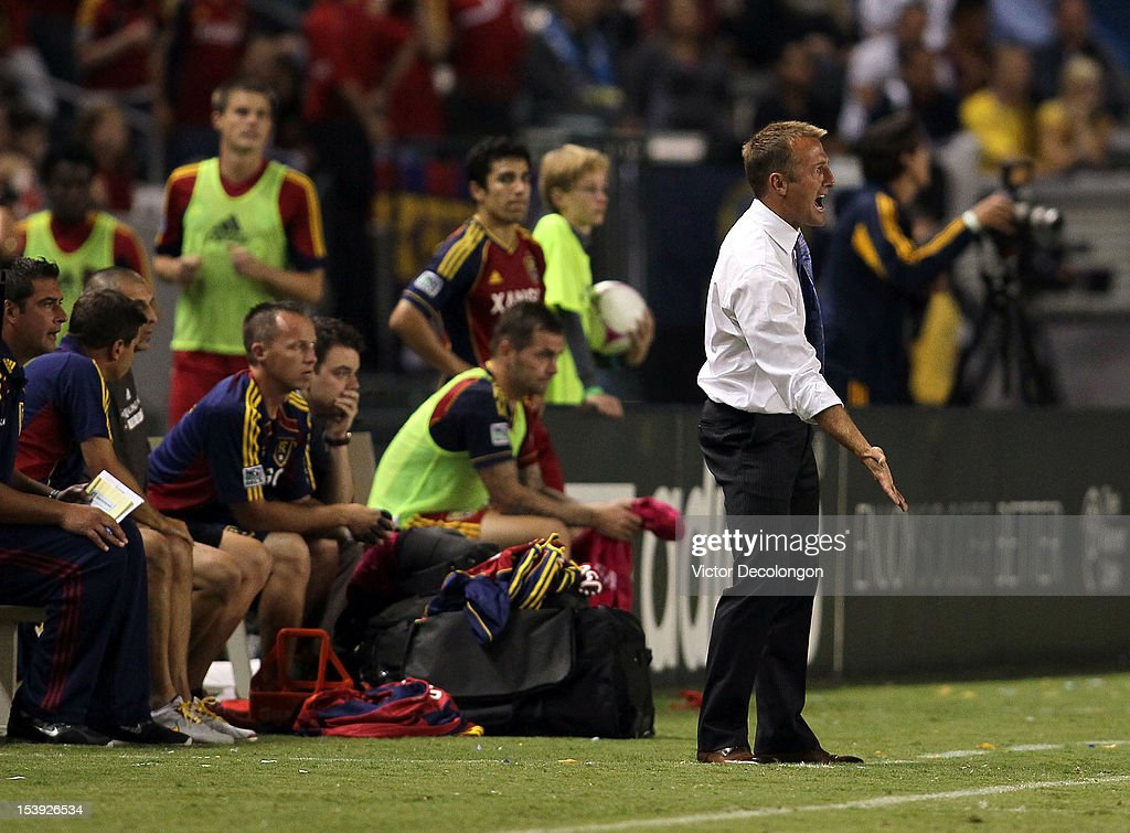 Real Salt Lake v Los Angeles Galaxy : News Photo