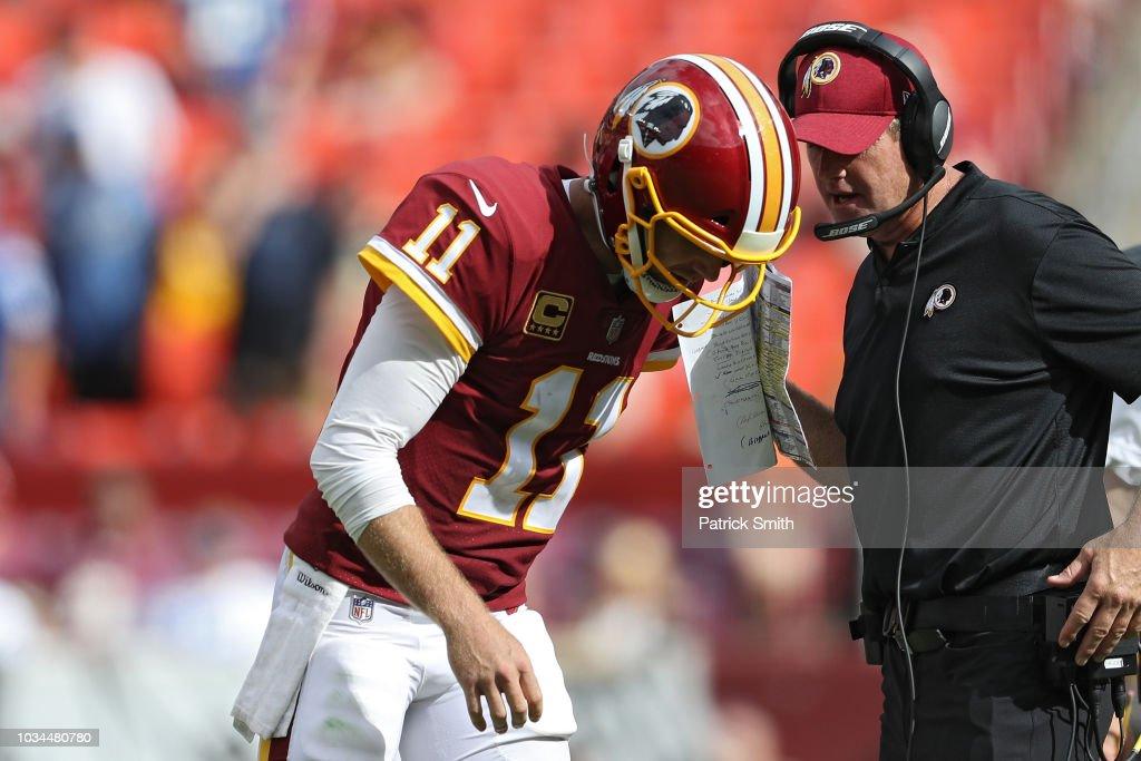 Indianapolis Colts v Washington Redskins : News Photo