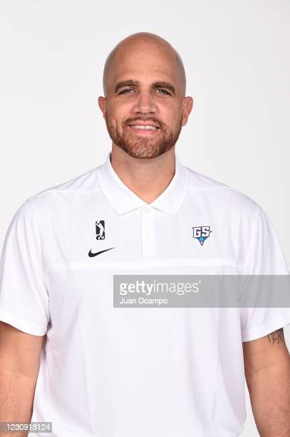 Head coach Jay Hernandez of the Greensboro Swarm poses for a head shot during NBA G League Content Day on February 1, 2021 at Northwest Pavilion in...
