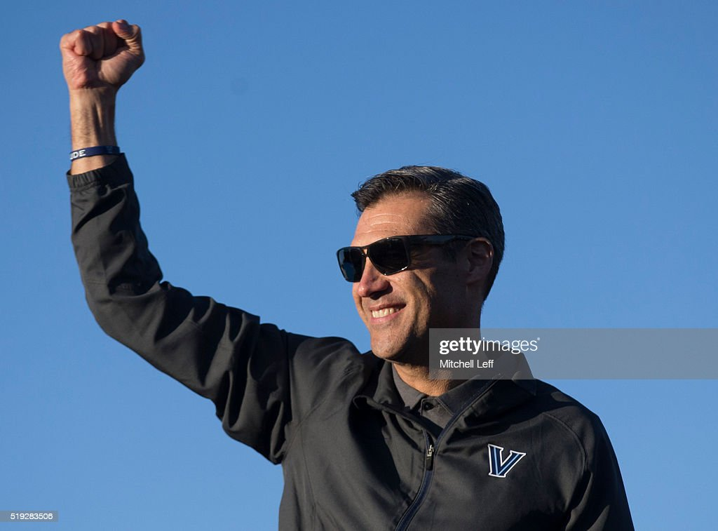 Villanova Wildcats Championship Rally : News Photo