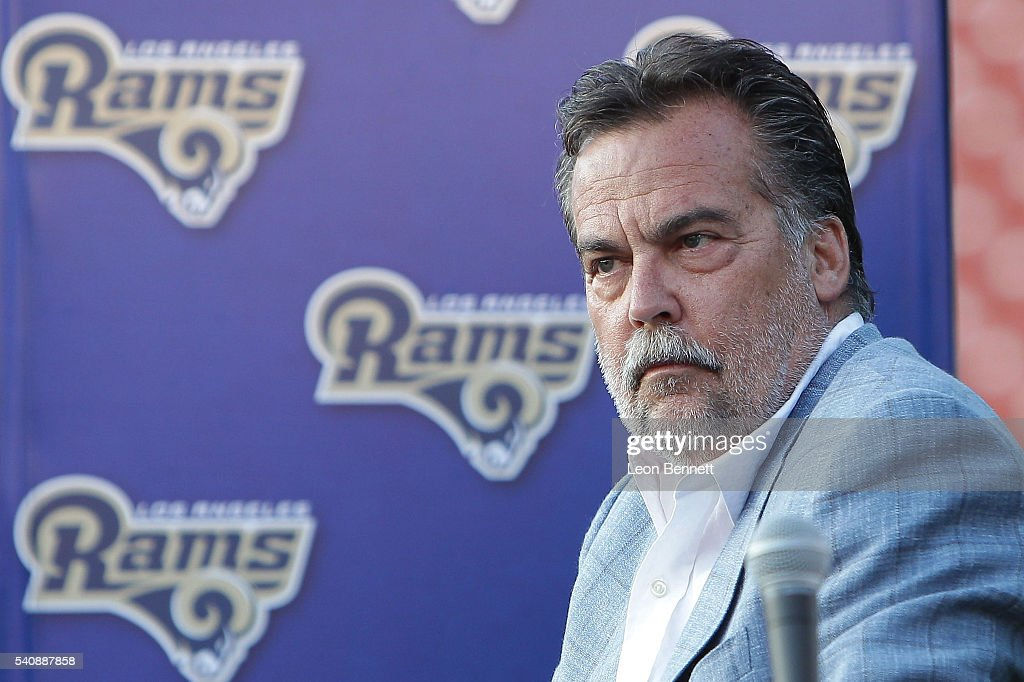 LASEC Hosts NFL All-Access With The Los Angeles Rams : News Photo