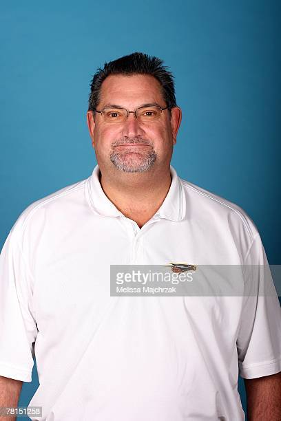Head coach Jeff Ruland of the Albuquerque Thunderbirds poses for a portrait during DLeague media day on November 13 2007 at the Open Court in Lehi...
