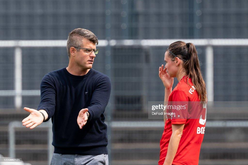 1. FC Koeln Women's v Bayern Munich Women's - Flyeralarm Frauen-Bundesliga : News Photo