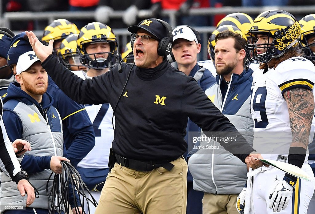 Michigan v Ohio State : News Photo