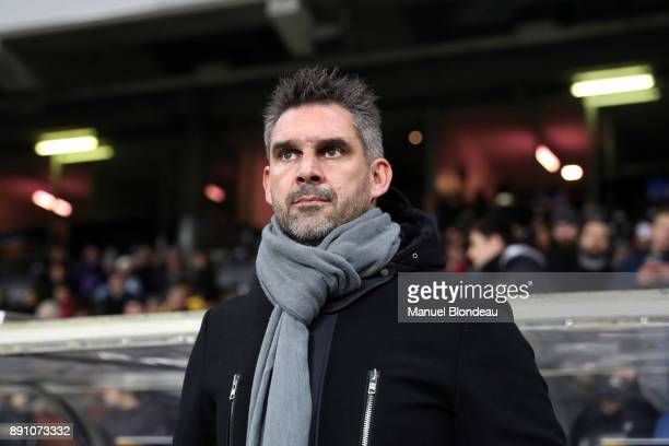 Head coach Jocelyn Gourvennec of Bordeaux during the french League Cup match Round of 16 between Toulouse and Bordeaux on December 12 2017 in...