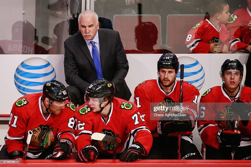 Los Angeles Kings v Chicago Blackhawks : News Photo
