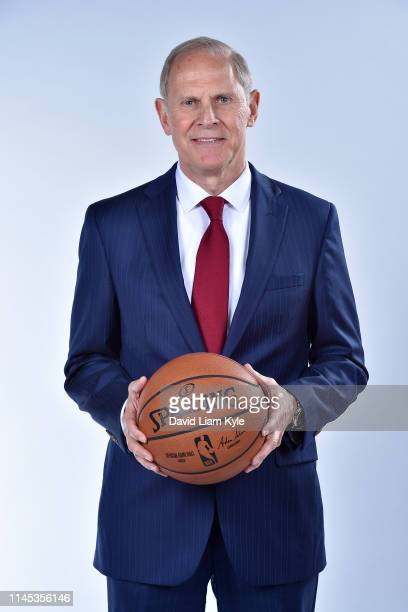 Head Coach John Beilein of the Cleveland Cavaliers poses for a head shot on May 21 2019 at Cleveland Clinic Courts in Independence Ohio NOTE TO USER...