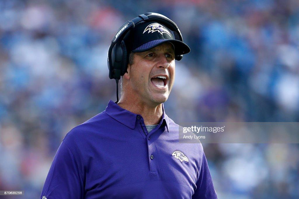 Baltimore Ravens v Tennessee Titans : News Photo