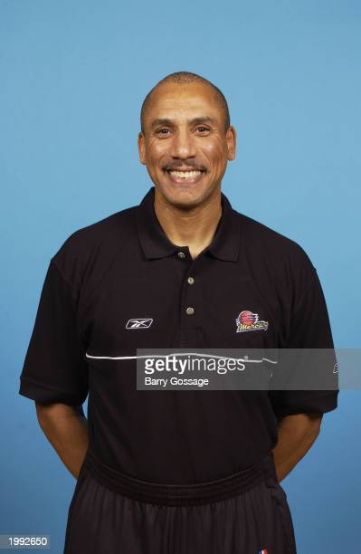Head Coach John Shumate of the Phoenix Mercury poses for a portrait during the Mercury media day on May 1 2003 in Phoenix Arizona NOTE TO USER User...