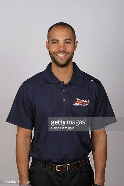 Head Coach Jordi Fernandez of the Canton Charge poses for a portrait on Media Day at The Edgewood Community Center on November 11 2014 in Canton Ohio...