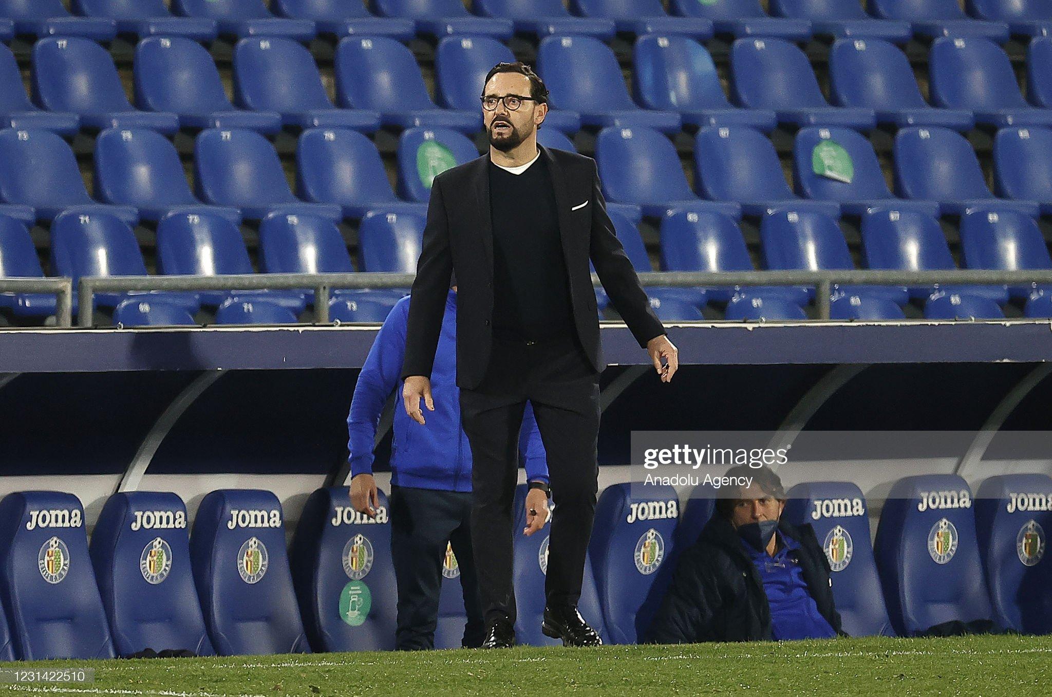 Getafe v Valencia - La Liga : ニュース写真