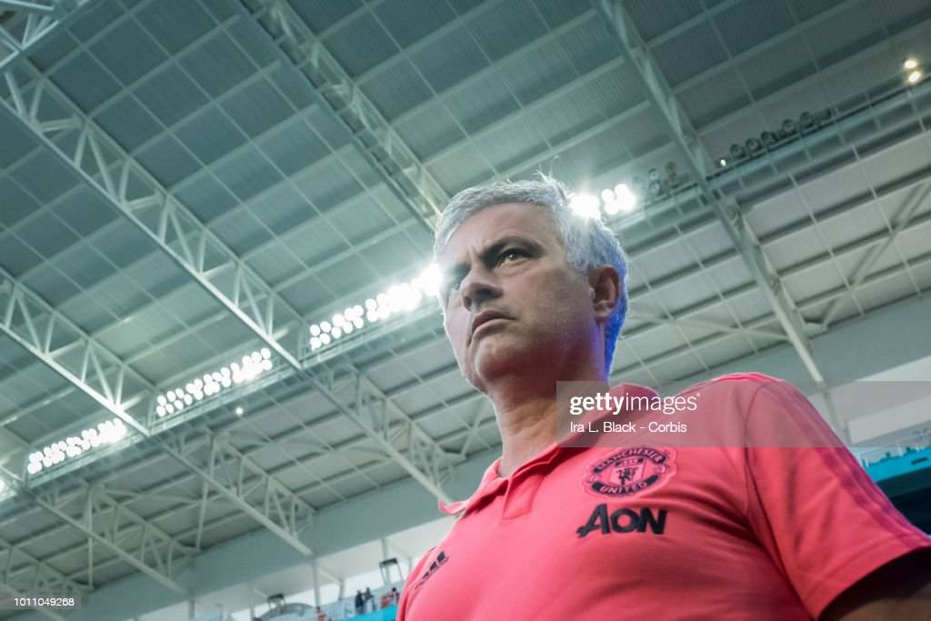 Real Madrid v Manchester United - International Champions Cup : News Photo