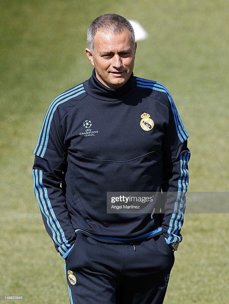 Real Madrid CF Training And Pr...