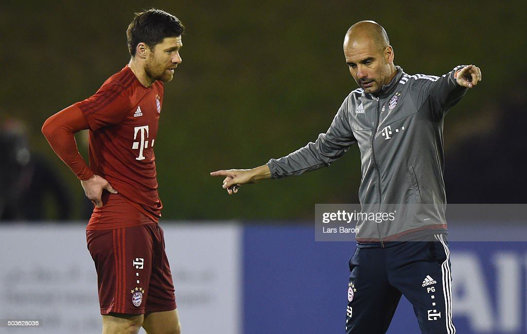 FC Bayern Muenchen - Doha Training Camp Day 1 : News Photo