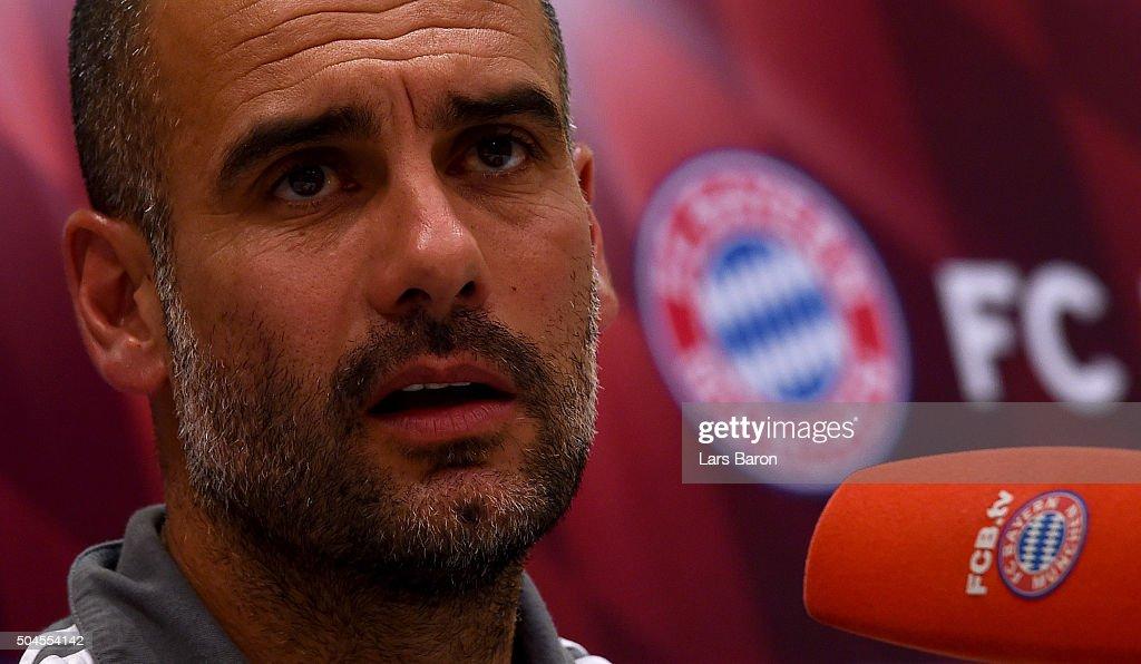 FC Bayern Muenchen - Doha Training Camp Day 6 : News Photo