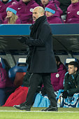 basel switzerland head coach josep guardiola