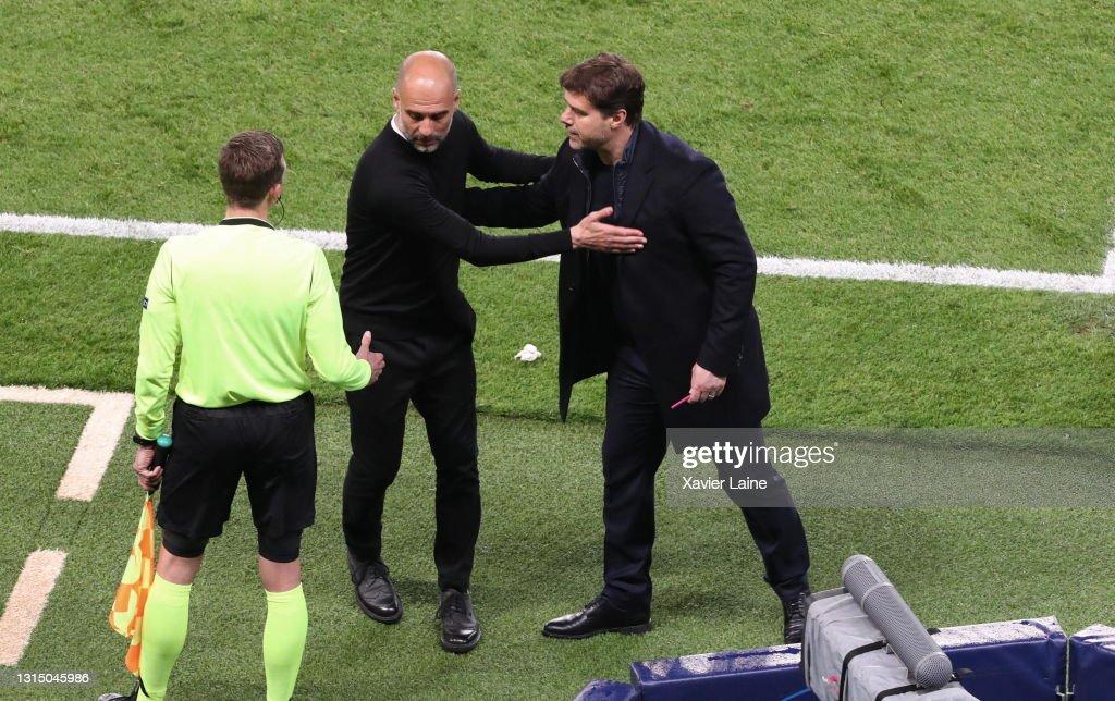 Paris Saint-Germain v Manchester City - UEFA Champions League Semi Final: Leg One : News Photo