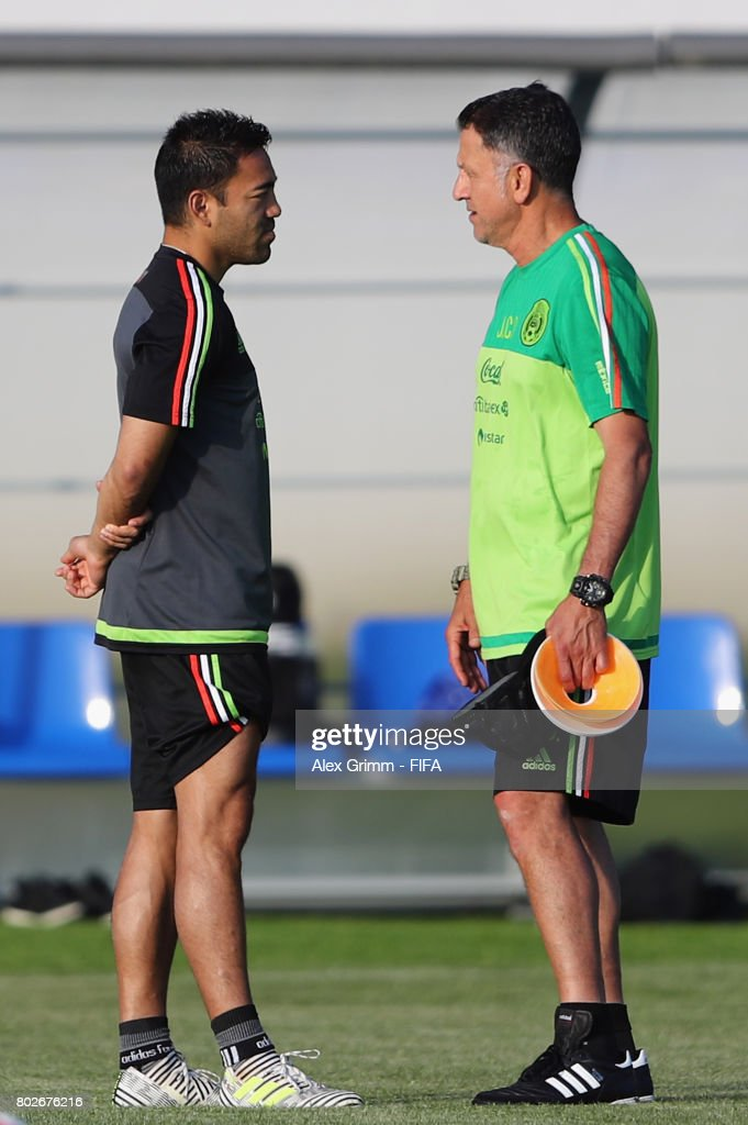 Mexico Training - FIFA Confederations Cup Russia 2017